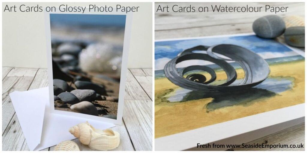 Cards-photo-paper-watercolour-paper-seaside-emporium