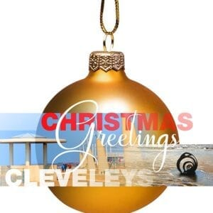 Christmas Card - bauble from Cleveleys
