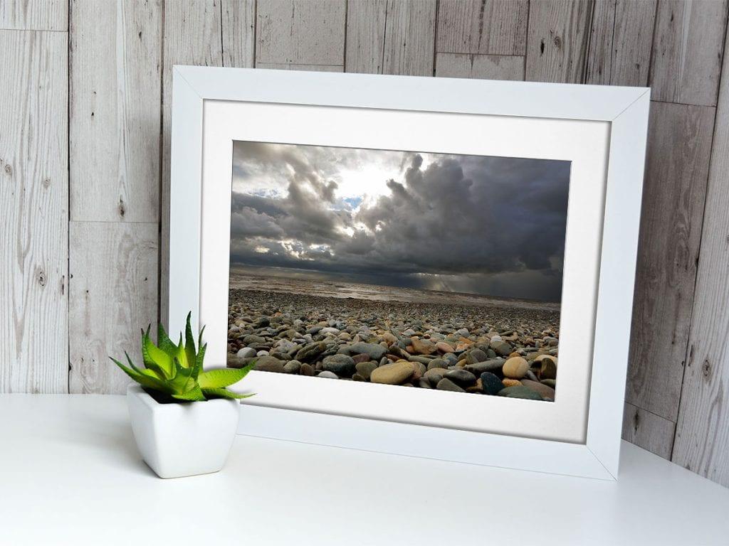 White Frame Photograph