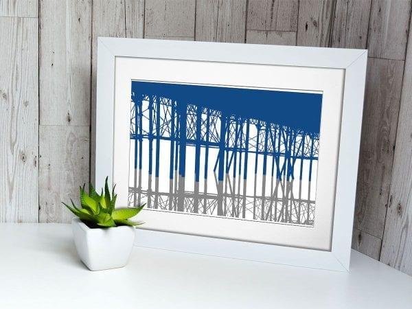 White Frame Photo Paper