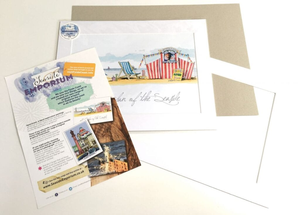 Free Postage and packaging from the Seaside Emporium