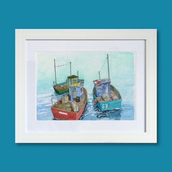 3 Small Boats frame