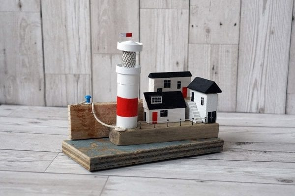 Lighthouse on the Quay handmade art from Seaside Emporium