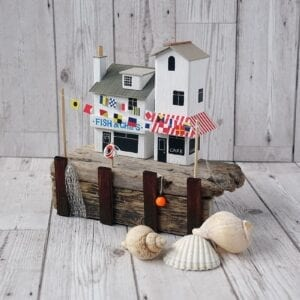 Quayside Gala, handmade driftwood model from Seaside Emporium