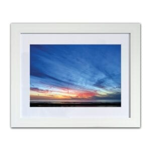 Sunsets in the West, framed photographic print from Seaside Emporium