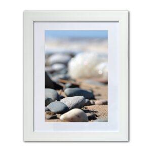 Pebbles, coastal photographic print from Seaside Emporium