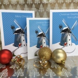 Christmas Card - Greetings from Lytham from Seaside Emporium