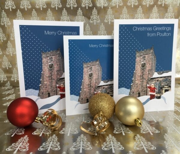 Christmas Card – Greetings from Poulton