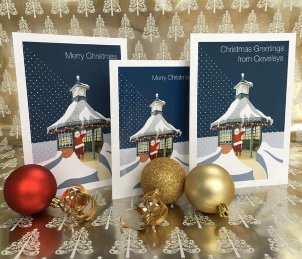 Christmas Card – Greetings from Cleveleys from Seaside Emporium