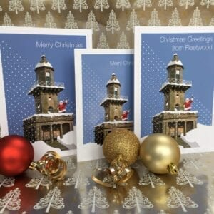 Christmas Card - Greetings from Fleetwood from Seaside Emporium