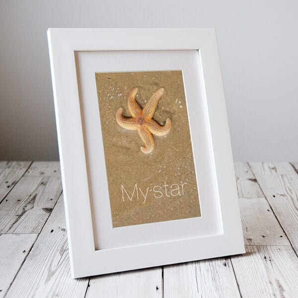 'My Star' Letterbox Picture Gifts from Seaside Emporium