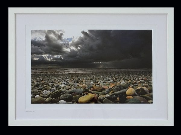 Storm over Rossall Beach, photo print from Seaside Emporium